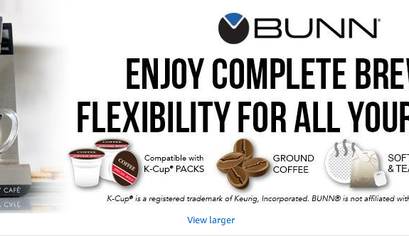 BUNN Single Cp Coffee Brewer